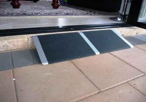 RedGum Aluminium Non-Slip Threshold Access Ramp 810mm X 300mm Redgum SuperPharmacyPlus