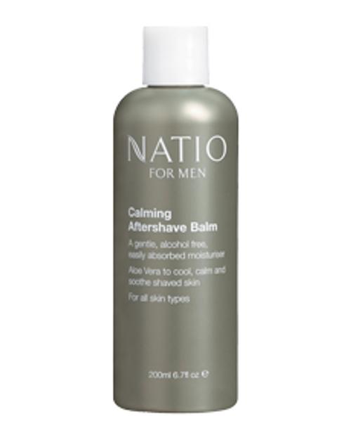 Natio Mens Calming Aftershave Balm 200ml Natio SuperPharmacyPlus