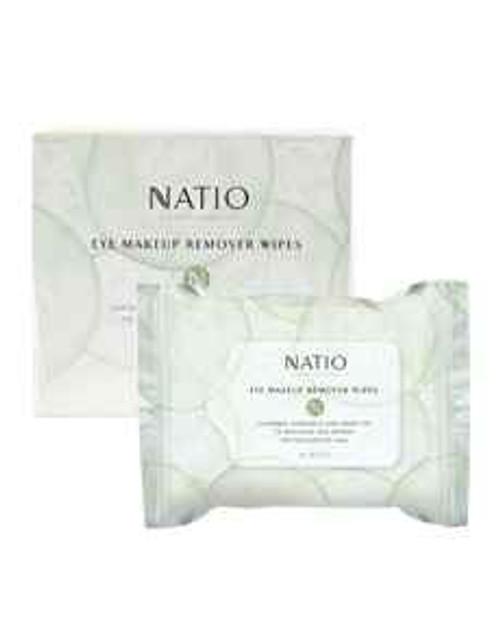 Natio Eye Makeup Remover Wipes 30pk Natio SuperPharmacyPlus