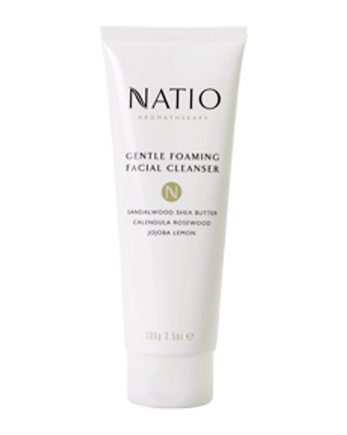 Natio Gentle Foaming Facial Cleanser 100g Natio SuperPharmacyPlus