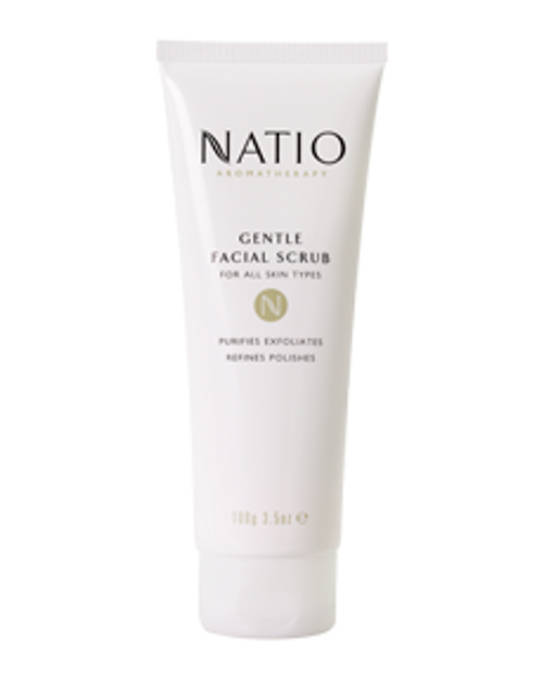 Natio Gentle Facial Scrub 100g Natio SuperPharmacyPlus