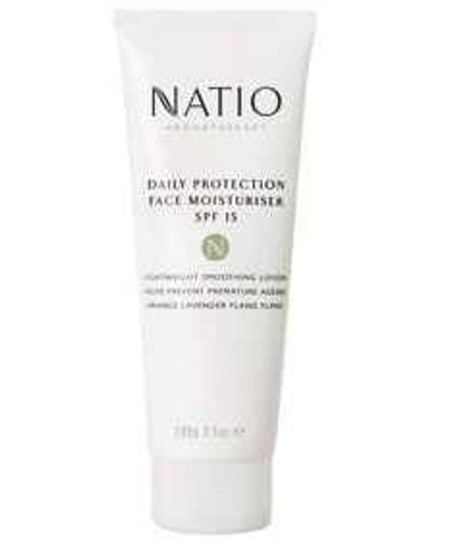 Natio Daily Protection Face Moisturiser SPF 15 100g Natio SuperPharmacyPlus