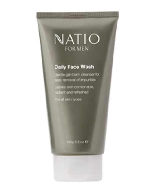 Natio Mens Daily Face Wash 150g Natio SuperPharmacyPlus