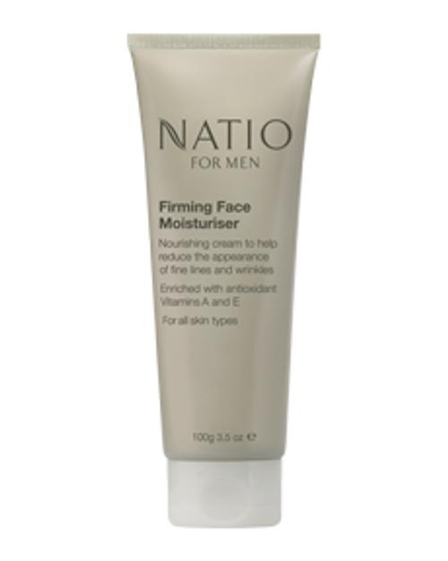 Natio Mens Firming Face Moisturiser 100g Natio SuperPharmacyPlus