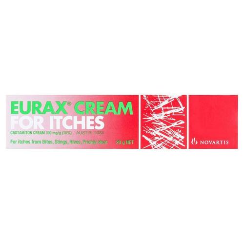 Eurax Cream For Itches 20g Eurax SuperPharmacyPlus