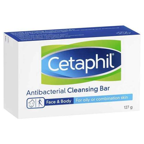 Cetaphil Antibacterial Cleansing Bar 127g Cetaphil SuperPharmacyPlus