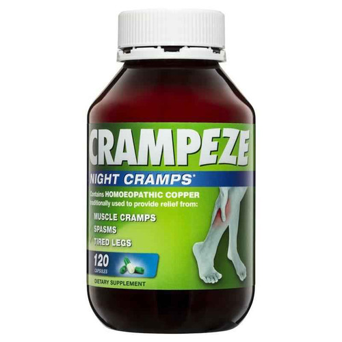 Crampeze Night Cramps 120 Caps Crampeze SuperPharmacyPlus