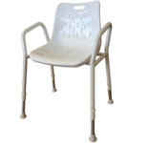 Aluminium Shower Chair Redgum SuperPharmacyPlus
