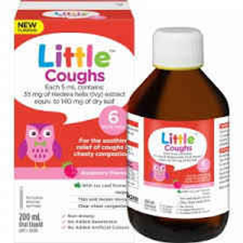 Little Coughs Raspberry Flavour 200ml Care Pharmaceuticals SuperPharmacyPlus