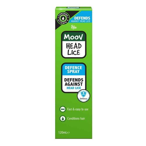 Ego MOOV Head Lice Defence Spray 120ml Ego Pharmaceuticals SuperPharmacyPlus