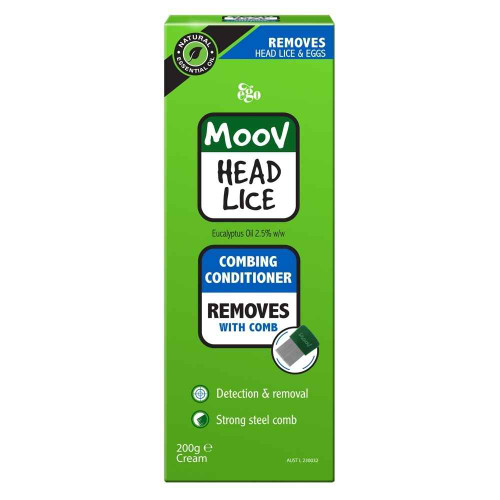 Ego MOOV Head Lice Combing Conditioner 200ml Ego Pharmaceuticals SuperPharmacyPlus