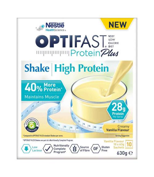 Optifast VLCD ProteinPlus Shakes Vanilla 63g 10 Nestle Health Science SuperPharmacyPlus