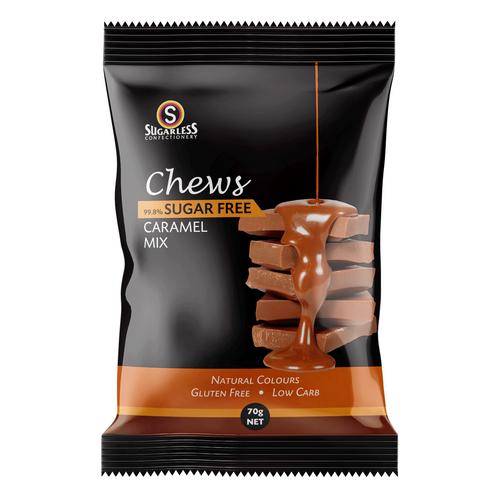 Sugarless Confectionery Caramel Mix Chews 70g Sugarless SuperPharmacyPlus
