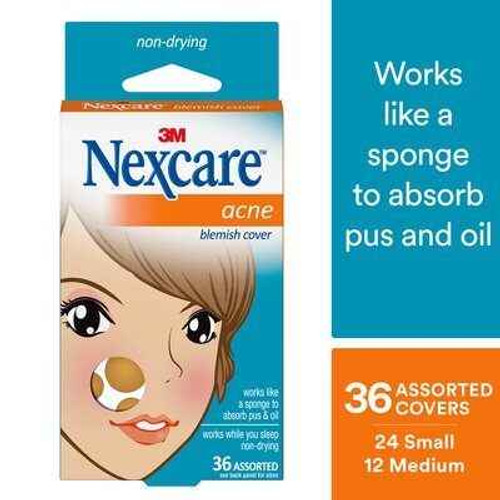 Nexcare Acne Absorbing Covers 36 Pack Nexcare SuperPharmacyPlus