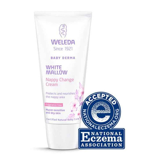 Weleda Baby Derma White Mallow Nappy Change Cream 50ml Weleda SuperPharmacyPlus