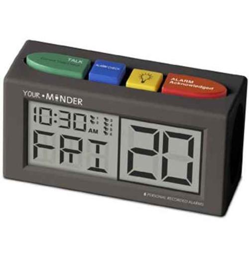 MedCenter Your Minder Personal Recordable Talking Alarm Clock TabTimer SuperPharmacyPlus
