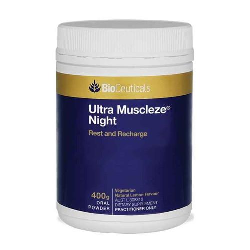 Bioceuticals Ultra Muscleze Night Powder 400g BioCeuticals SuperPharmacyPlus