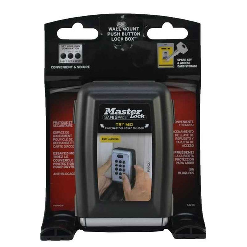 Master Lock Select Access or Wall Mount Push Button Key Safe or Master-Lock SuperPharmacyPlus