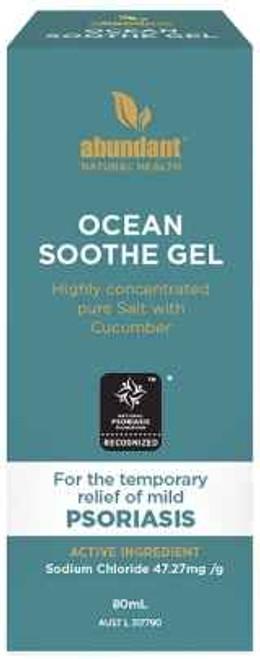 Abundant Ocean Soothe Gel for Psoriasis 80mL Abundant Natural Health Pty Ltd SuperPharmacyPlus