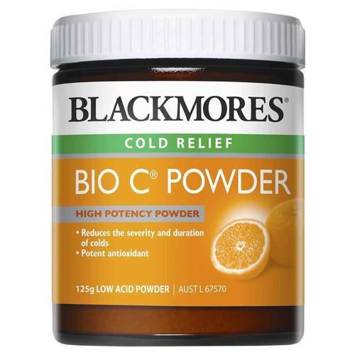 Blackmores Bio C Powder 125g Blackmores SuperPharmacyPlus