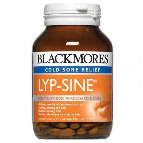 Blackmores Lyp-Sine 100 Tablets Blackmores SuperPharmacyPlus