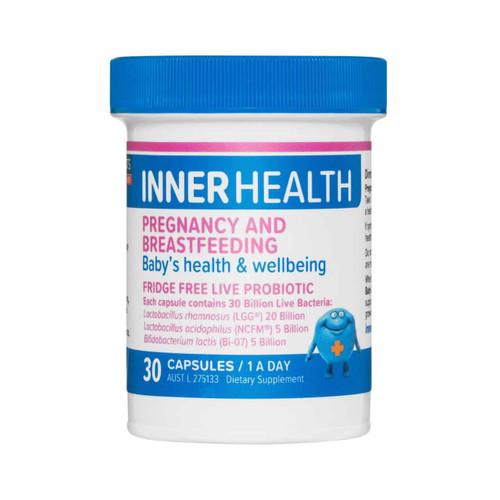 Inner Health Pregnancy And Breastfeeding 30 Capsules Ethical Nutrients SuperPharmacyPlus