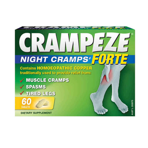 Crampeze Night Cramps Forte 60 Tablets Crampeze SuperPharmacyPlus