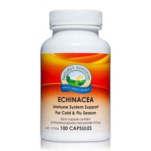 Natures Sunshine Echinacea 410mg 100 Capsules Natures Sunshine SuperPharmacyPlus