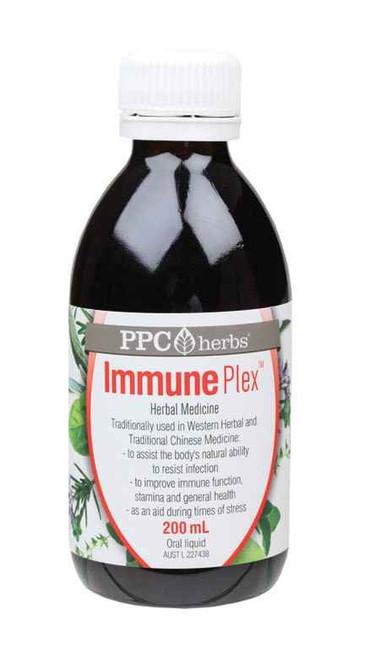 PPC Herbs Immune Plex 200ml The Pharmaceutical Plant Company SuperPharmacyPlus