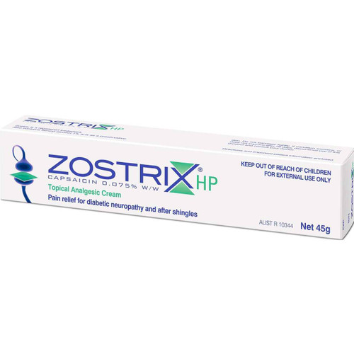 Zostrix HP Topical Analgesic Cream 45g Link Medical Products Pty Ltd SuperPharmacyPlus