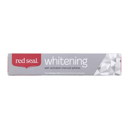 Red Seal Whitening Toothpaste 100g Red Seal SuperPharmacyPlus