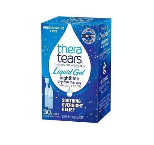 Thera Tears Liquid Gel 30 x 0.6ml Single Use Vials Thera Tears SuperPharmacyPlus