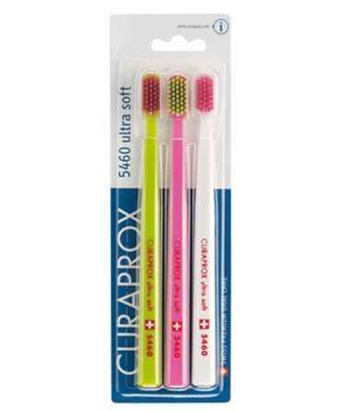 Curaprox 5460 Ultra Soft Toothbrush Trio Pack Curaprox SuperPharmacyPlus