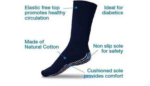 Gripperz Non Slip Circulation Socks Medium Gripperz SuperPharmacyPlus