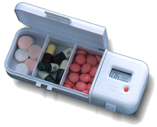 TabTimer Pill Box Reminder TT4-3 TabTimer SuperPharmacyPlus