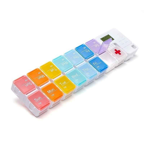 Tab Timer Rainbow Connection Pill Box TT4-15 TabTimer SuperPharmacyPlus