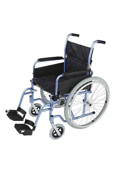 Self Propelled Lightweight Aluminium SP1 Wheelchair 125kg Patterson Medical SuperPharmacyPlus