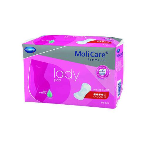 Molicare Premium Lady Pad 4 Drop 14 Pack Hartmann SuperPharmacyPlus