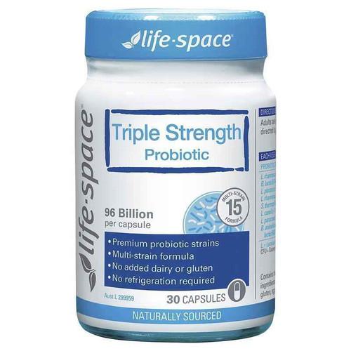 Life Space Triple Strength Probiotic 30 Capsules Evolution Health Pty Ltd SuperPharmacyPlus