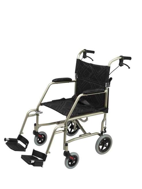 Wheelchair Transit Ultra-lightweight 125kg SuperPharmacyPlus SuperPharmacyPlus
