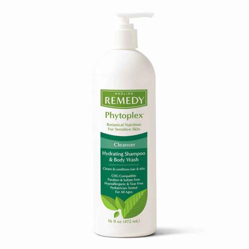 Medline Remedy Phytoplex Cleanser Hydrating Shampoo and Body Wash 472ml Medline SuperPharmacyPlus