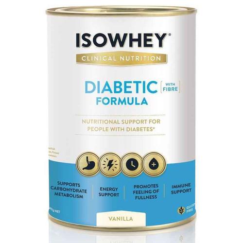 Isowhey Diabetic Formula Vanilla 640g isowhey SuperPharmacyPlus