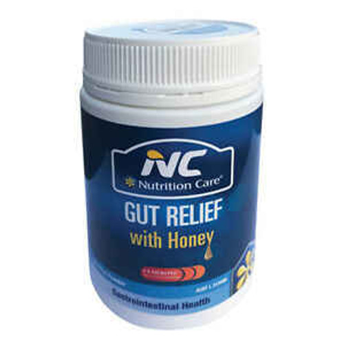 Nutrition Care Gut Relief with Honey 150g Nutrition Care SuperPharmacyPlus