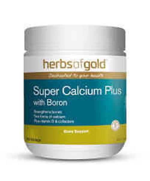 Herbs of Gold Super Calcium Plus with Boron 180 Tablets Herbs of Gold SuperPharmacyPlus