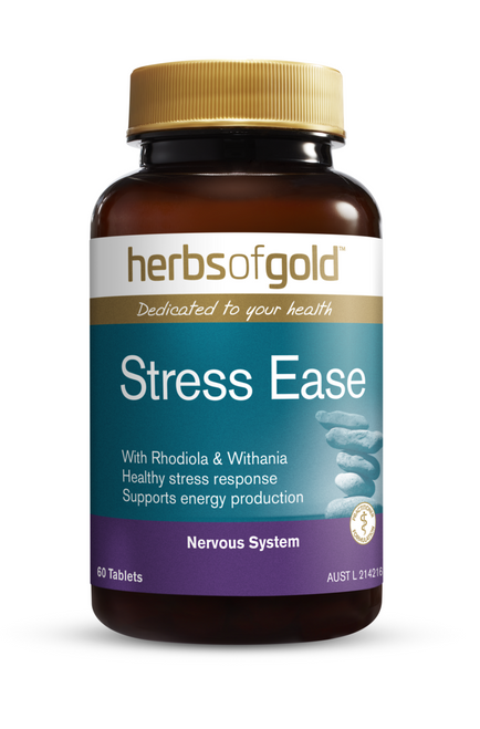 Herbs of Gold Stress Ease 60 Tablets Herbs of Gold SuperPharmacyPlus