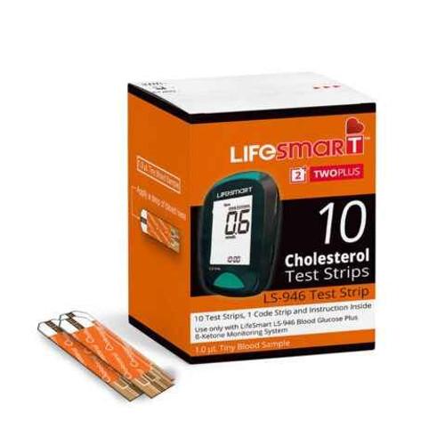 LifeSmart Cholesterol 10 Test Strips Genesis Biotech Pty Ltd SuperPharmacyPlus