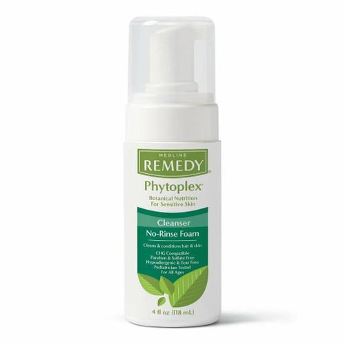 Medline Remedy Phytoplex Cleanser No-Rinse Foam 118 mL Medline SuperPharmacyPlus