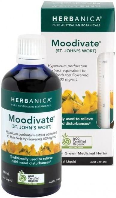 Herbanica St Johns Wort Moodivate 100ml The Pharmaceutical Plant Company SuperPharmacyPlus