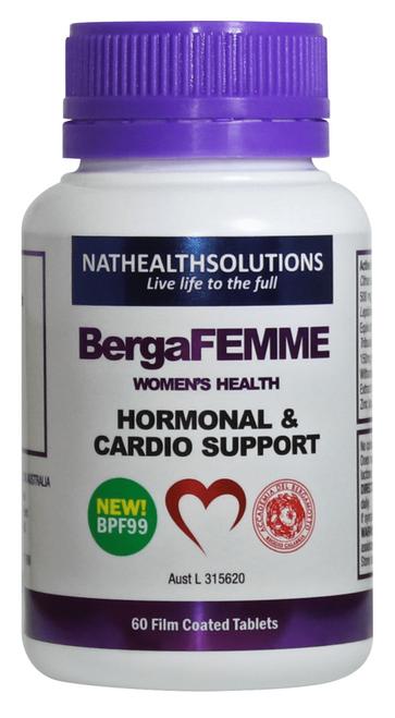 Bergafemme Womens Health 60 Tablets Bergamet SuperPharmacyPlus