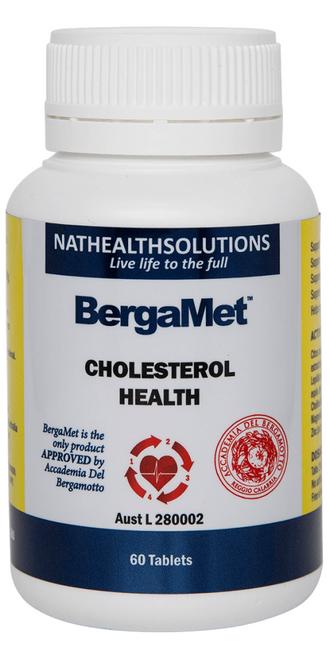 Bergamet Cholesterol Health 60 Tablets Bergamet SuperPharmacyPlus